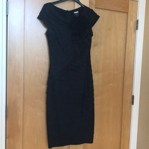 Black Tadashi cocktail dress